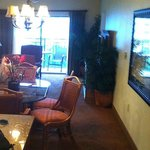 The living/Dining area