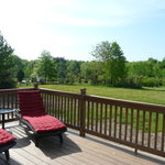 Enjoy the sprawling back deck!