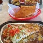 Taco and Burrito Plate