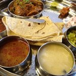 Kolhapuri Mutton Thali
