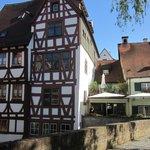 Medieval Fischer-Viertel quarter in Ulm