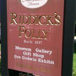 Riddick's Folly House Museum