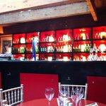Calzone inside bar