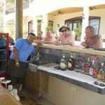 Cristian...bartender in pool swimup