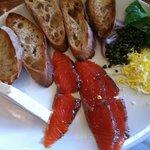 Salmon breakfast