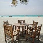Sitzgelegenheit Beachbar