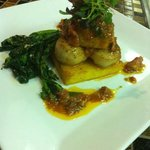 Shrimp and Scallop Saltimbocca