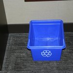 Recycling Bin in our room