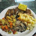 Delicious Caribbean BBQ at Concordia Cafe