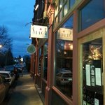 Stage Wine Bar on a beautiful evening