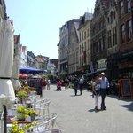 Groenplaats, Amberes, Bélgica.