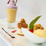 Deliciuos desserts. Quinoa Trilogy.