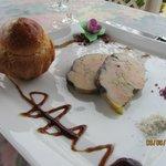Mi-cuit foie gras w/warm brioche