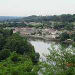 View from the terrace of Pessac-sur-Dordogne