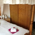 En-suite from the bed