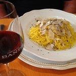 pasta with truffles