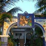Blue Tang Inn on the beach