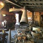 working Blacksmith Shop and retailer