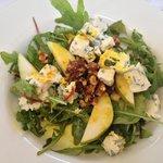 Delicious pear salad