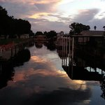 Sunset over the Canals at Lake Hatchineha