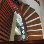 Beautiful staircases, not all fully restored yet.