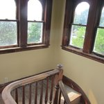 View from the cupola on the top of the inn.