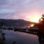 View from suite Brentwood Bay