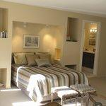 Guest Cottage view of Queen Sleeping Nook