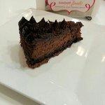 Dark Belgium Chocolate Cheesecake!  Our family's favorite!
