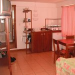 kitchenette area - dolphin room