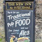 Sign at New Inn