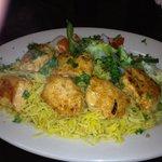 Chicken Kabob...amazingly good, tender, well seasoned chicken