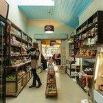 Inside the pantry at A Taste of Gibbston.
