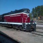 black hills railway wonder train ride on old steam train