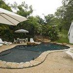 Mooloolah Valley swimming pool fun