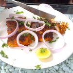 Fish Fry that was double charged at Rs.540 as against the Menu price Rs.270.