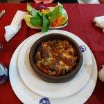 Topkapi 'casserole' was hearty and good.