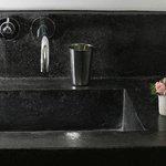 lavabo en béton ciré