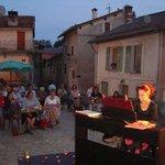 Concert de piano classique par Ann Simon-Debonne, en extérieur