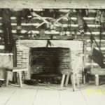 the old studio fireplace