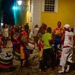 Tuesday evening in Pelourinho with Leo