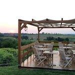 veranda esterna panoramica