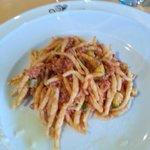 trofie salsiccia e zucchine