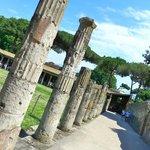 Pompei pillars