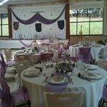 salle pour mariage médiéval