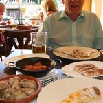 Some of the delicious tapas.