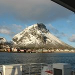 Lovund as we leave by the ferry.