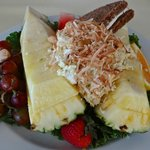 Jamacian Pineapple Boat - from Lunch Menu