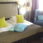 Nice double bed in room #120