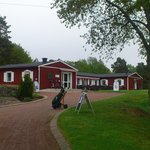 The club house at Oskarshamns Golf Course